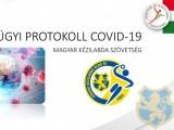 COVID-19 protokol a CKKSE mérkőzéseire