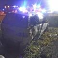 Árokba csapódott egy személygépkocsi Abony közelében