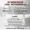 In Memoriam 1956. november 4.