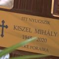Kistarcsán helyezték örök nyugalomra Kiszel Mihály katolikus plébánost