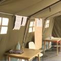 Újabb sátrak a kórháznál