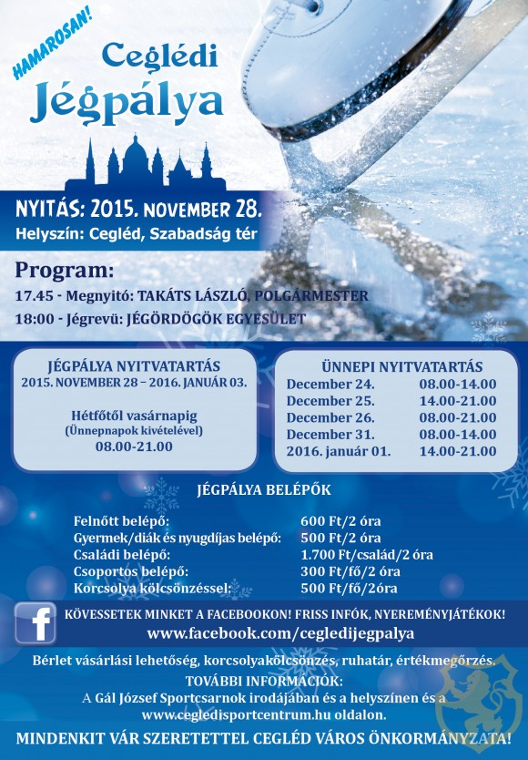 November 28-�n nyit a j�gp�lya!