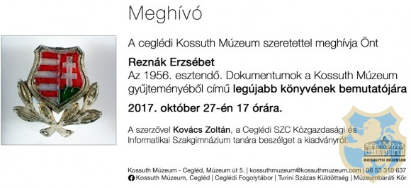 Könyvbemutató a Kossuth Múzeumban