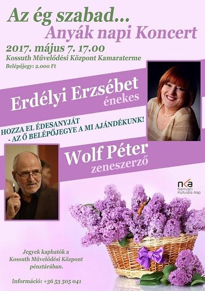 Az ég szabad... Anyák napi koncert 2017.05.07.