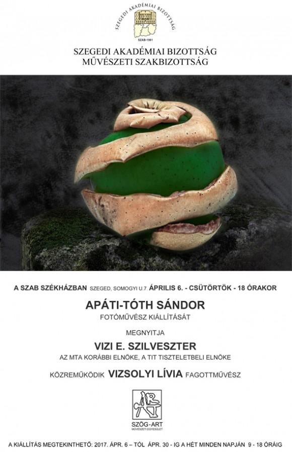 ATLANTISZ - Apáti-Tóth Sándor kiállítása Szegeden