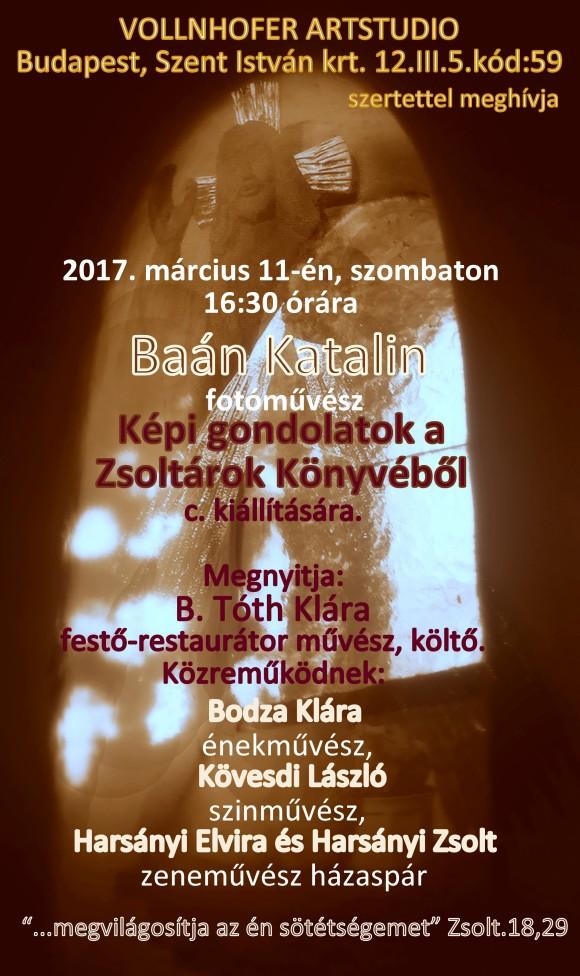 Baán Katalin kiállítása Budapesten