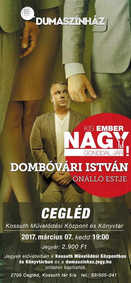 DUMASZÍNHÁZ - Dombóvári István önálló estje