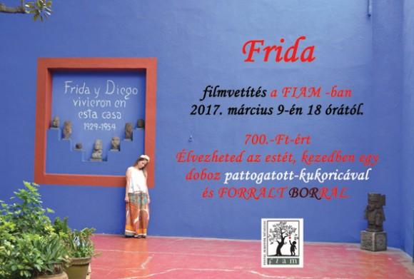 Frida - filmvetítés a