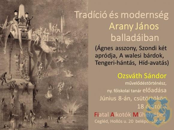 Tradíció és modernség Arany János balladáiban