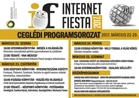 Internet Fiesta 2017. Cegléd