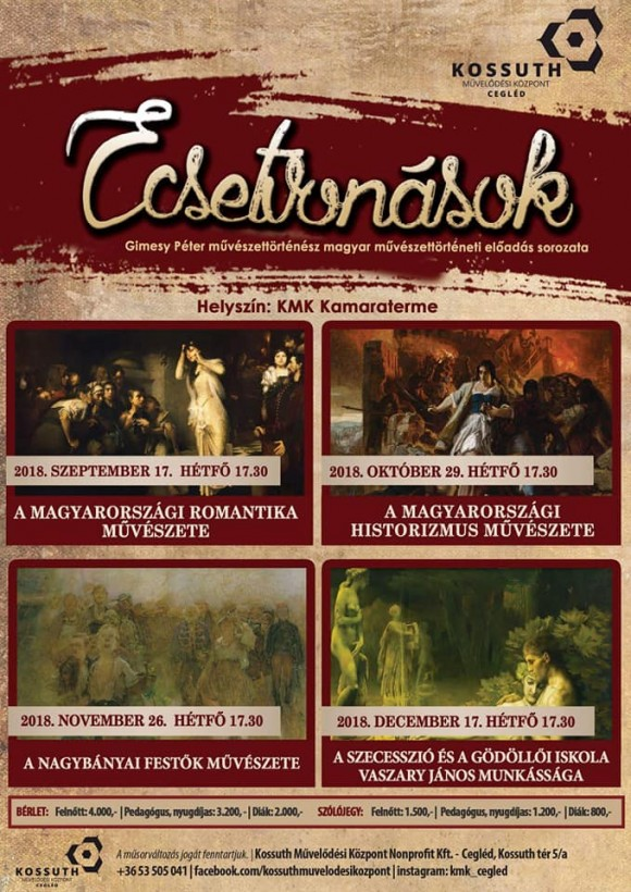 ECSETVONÁSOK - Gimesy Péter előadás sorozata