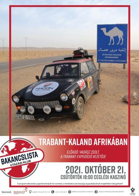 Trabant-kaland Afrikában