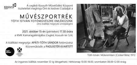 Művészportrék - Tóth István fotóművészre emlékezünk