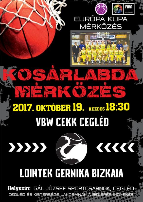 VBW CEKK CEGLÉD -  LOINTEK GERNIKA BIZKAIA2017. október 19. 18:30
