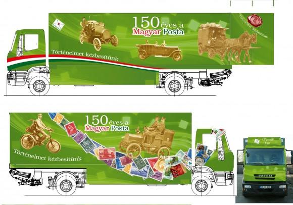 Városunkba érkezik az Utazó Postakiállítás kamionja