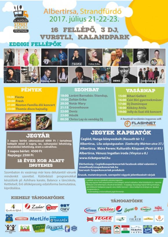 II. Alföldi Street Food Fesztivál - Albertirsa