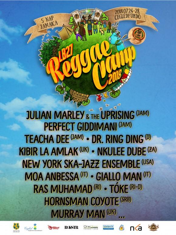 Reggae Camp a Ceglédi Gyógyfürdő és Szabadidőközpontban