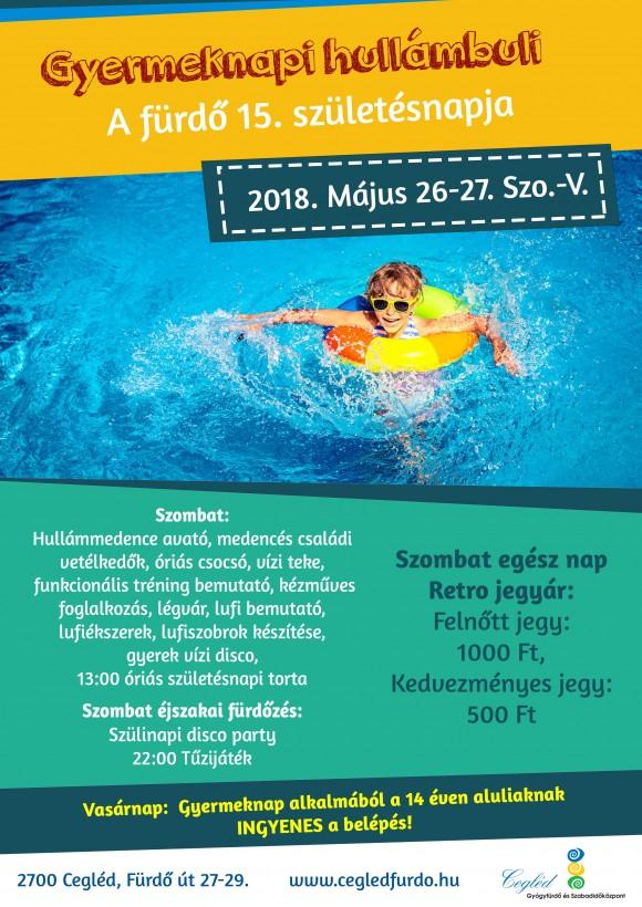 Gyermeknapi HULLÁMBULI 2018.05.26-27.
