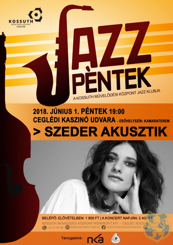 JAZZ PÉNTEK - SZEDER AKUSZTIK 2018.06.01.