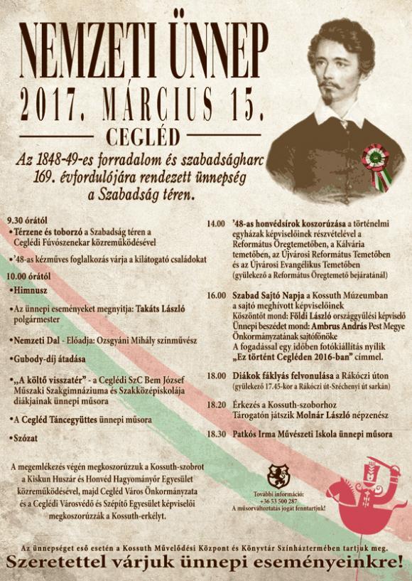 NEMZETI ÜNNEP 2017. március 15.
