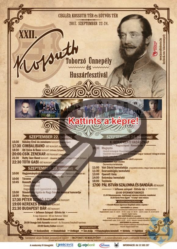 XXII. Kossuth Toborzó Ünnepély és Huszárfesztivál