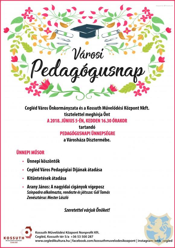 VÁROSI PEDAGÓGUSNAP 2018.06.05.