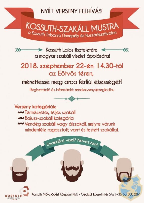 Kossuth Toborzó Ünnepély és Huszárfesztivál 2018