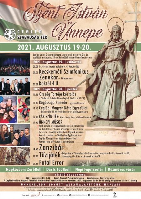 Szent István Ünnepe - Meghívó