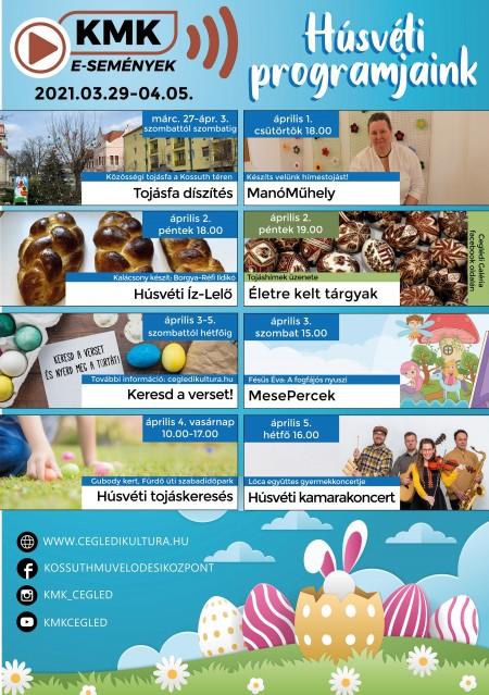 KMK Húsvéti programok