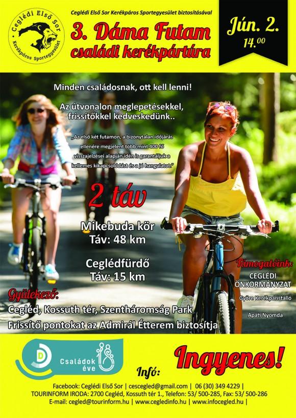 3. Dáma Futam - családi kerékpártúra
