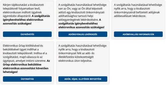 Biztonságos online ügyintézés a helyi önkormányzatoknál