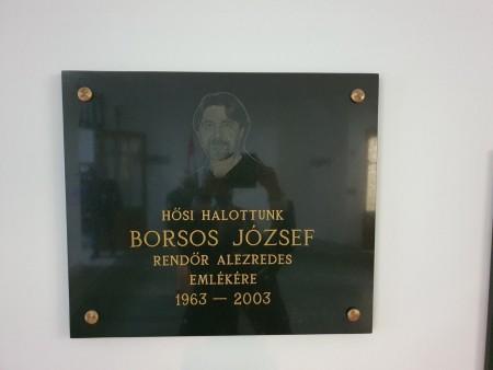 Megemlékezés Borsos Józsefről