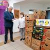 Ruha és élelmiszer adomány