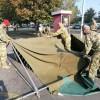 Katonai sátrakat állított fel a Magyar Honvédség a kórház előtt
