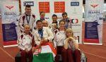 Lenyűgöző váci eredmények az INAS fedettpályás Európa-bajnokság