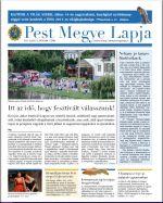Pest Megye Lapja - júliusi szám
